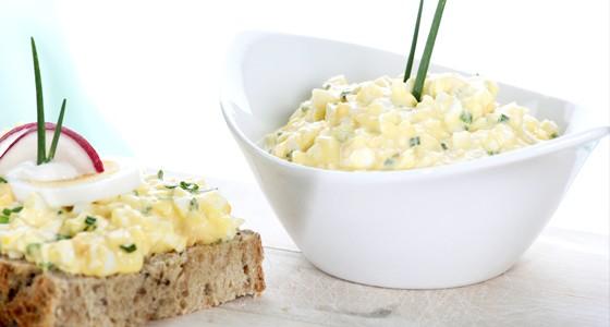 Domácí vajíčková pomazánka