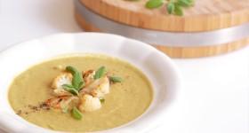 Krémová květáková polévka