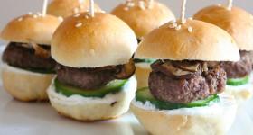 Voňavé miniburgery