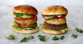 Zeleninový hamburger