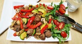 Masové kuličky se zeleninou