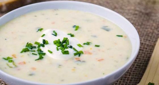 Smetanová květáková polévka