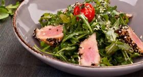 Salát s tuňákem