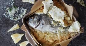 Pražma v solné krustě