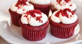 Red velvet muffiny