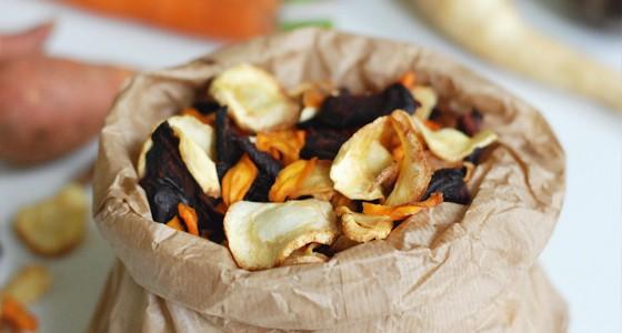 Zeleninové chipsy