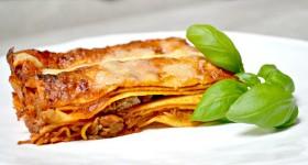 Lasagne s neapolským ragú