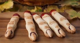 Halloweenské prstíky